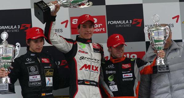 F3 Euroseries: Segunda posición para Mehri