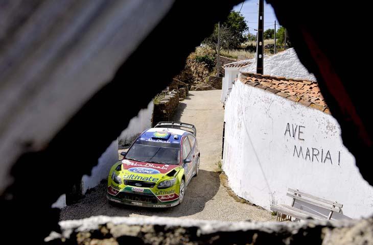 Las mejores imágenes del Rally de Portugal.
