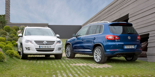 El Volkswagen Tiguan, ahora con DSG