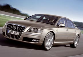 Audi A8: coherencia