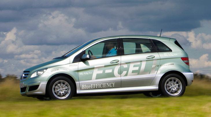 Mercedes Clase B F-Cell: cero emisiones