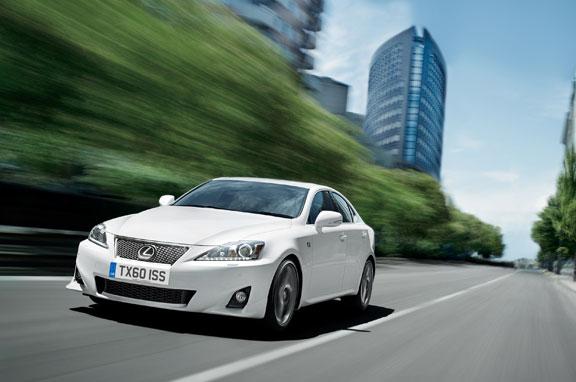 Nuevo Lexus IS 2011