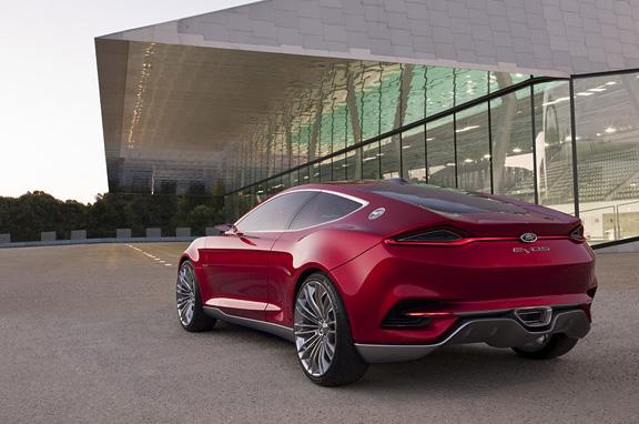Ford Evos Concept en Frankfurt 2011