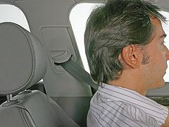 La mayoría de los conductores no sabe utilizar los reposacabezas