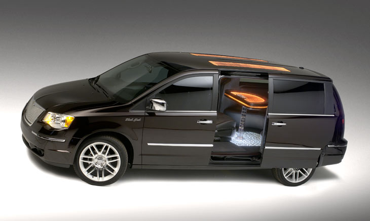 Chrysler Town & Country Black Jack