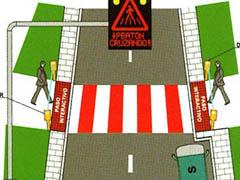 El paso de peatones más listo del mundo