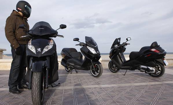 Ventas de motos: bajan un 60 por ciento