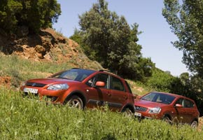 Nissan Qashqai 2.0/Suzuki SX4 1.9 DDS