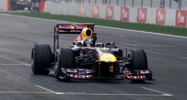 GP de India de F1: Vettel no se cansa de ganar