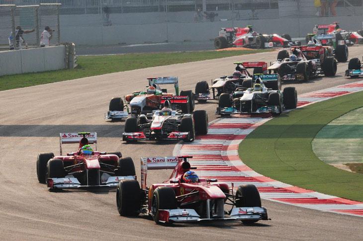 GP de la India 2011.
