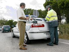 Carnet por puntos: 1.655 conductores sin licencia