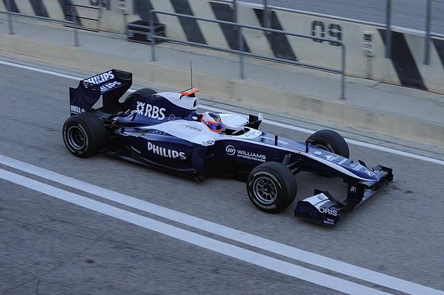Test F1 Cheste primer día