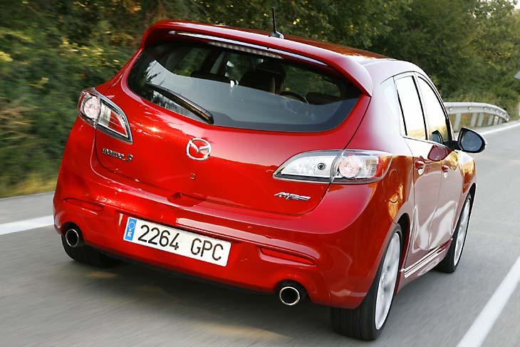 Mazda 3 MPS, la prueba