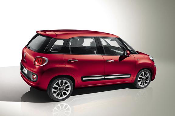Nuevo Fiat 500 L Largo