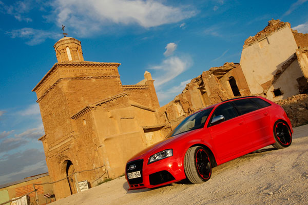 Audi RS3 la prueba