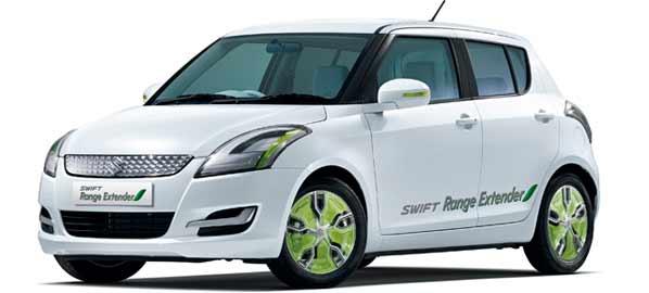 Suzuki G70 y Swift de autonomía extendida