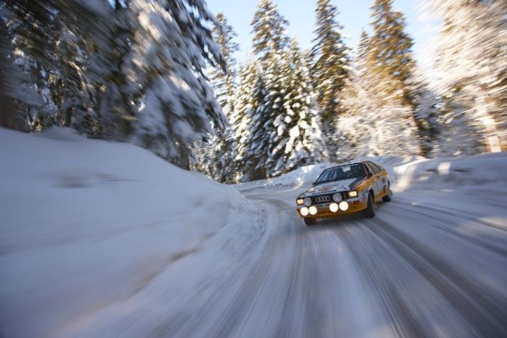 Walter Rohrl - Audi Quattro