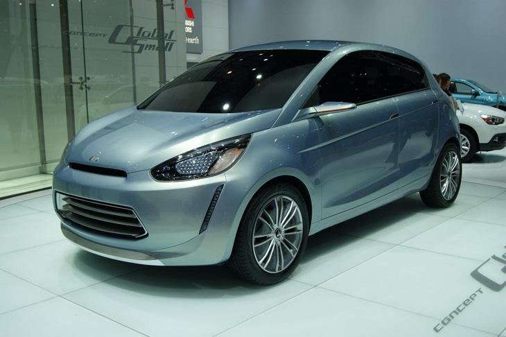 Mitsubishi e-compact concept.