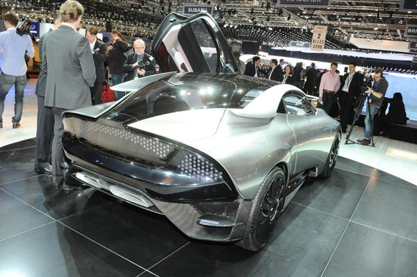 Saab PhoeniX Concept en Ginebra 2011