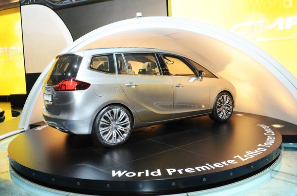 Vauxhall Zafira Tourer Concept.
