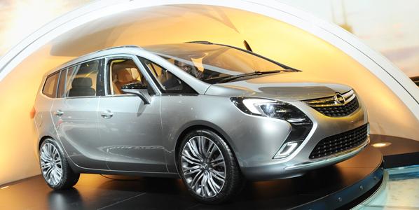 El futuro Opel Zafira llegará en Ginebra
