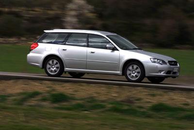 Su estética es puramente Subaru.