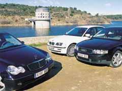 Audi A4 2.5 TDI 180 CV quattro / BMW 330 xd / Mercedes C270 CDI