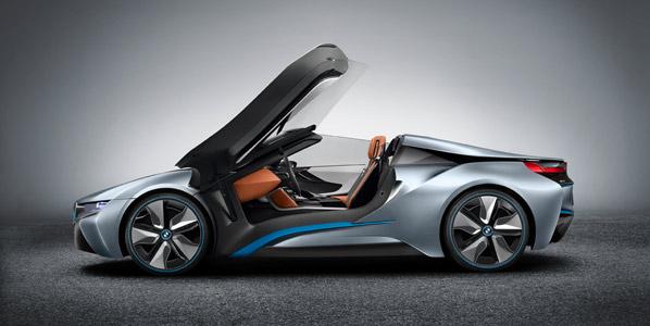 BMW i8 Spyder, espectáculo ecológico
