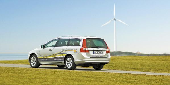 Los híbridos de Volvo, en 2012