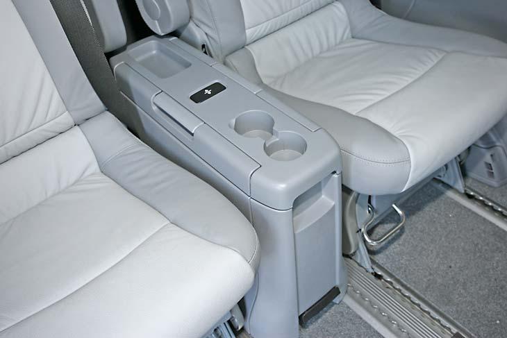 Mercedes Viano 2.2 CDI 4 Matic interiores