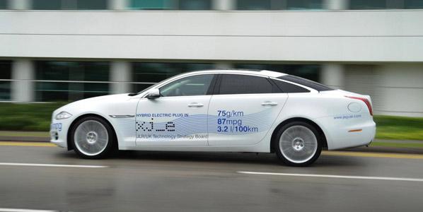 Jaguar XJ Plug in Hybrid