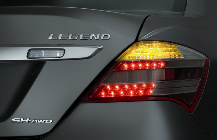 Nuevo Honda Legend.