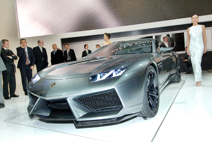 Salón del Automóvil de París 2008