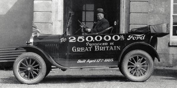 El Ford T cumple 100 años