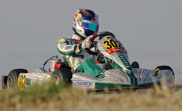 Kart: Sainz Jr. a un punto del subcampeonato