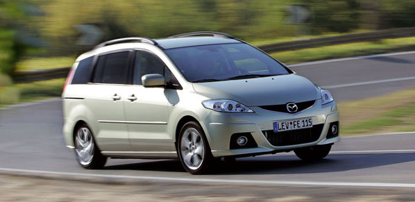 Mazda 5: más equipamiento, mismo precio