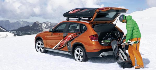BMW X1 Powder Ride Edition y Concept K2, para la nieve
