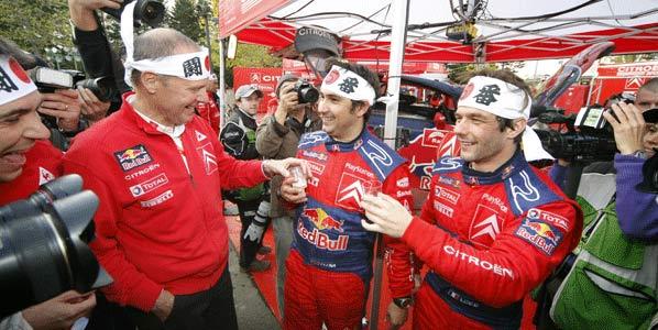 Loeb, Campeón después de Japón