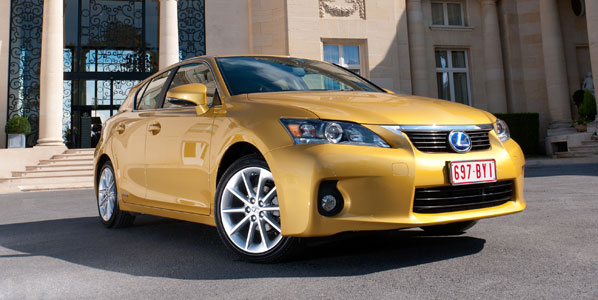 El híbrido Lexus CT 200h ya tiene precio