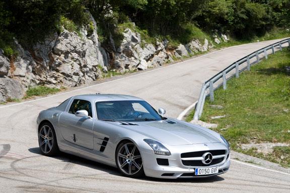 Mercedes SLS, la prueba