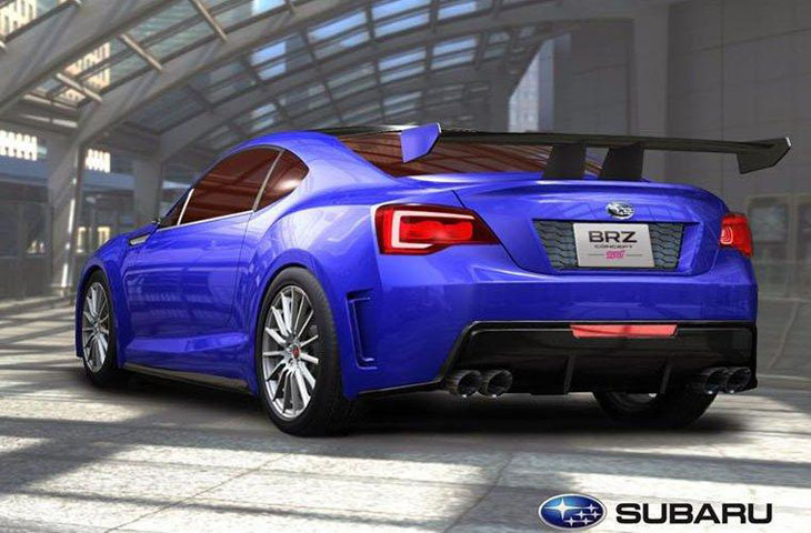 Subaru BRZ STI Concept.