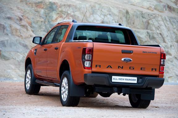 Nuevo Ford Ranger, a la venta en enero de 2012.