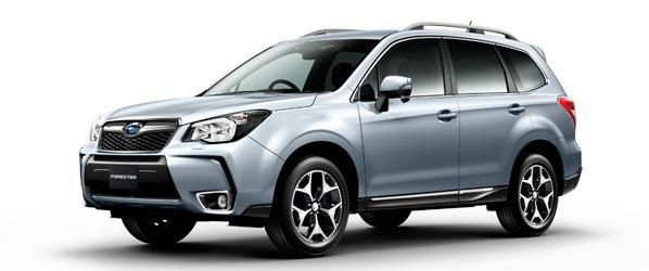 Subaru Forester, la cuarta generación