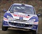 El nuevo 206 WRC debutará en Grecia