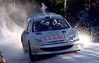 Marcus Grönholm gana el Rally de Suecia para Peugeot