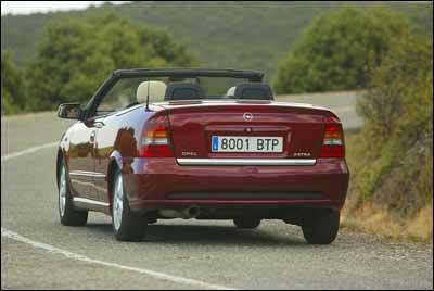 Opel Astra Cabrio 1.8 16 V Bertone Edition