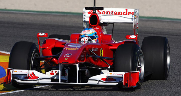 Alonso debuta con Ferrari