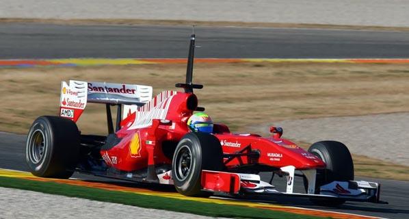 Test F1 Cheste: Ferrari sigue al frente