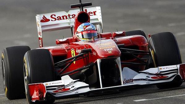 F1: Alonso vuelta en Cheste