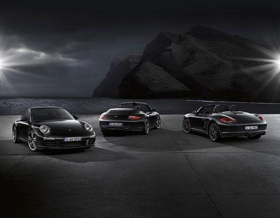 Porsche Boxter Black Edition